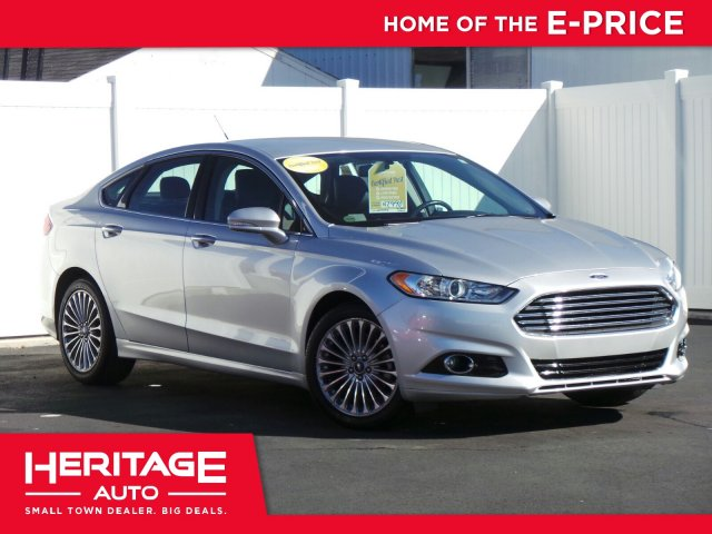 Pre Owned 2015 Ford Fusion Titanium Fwd 4dr Car